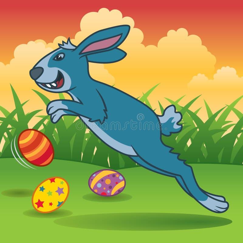 Download Królik Easter ilustracja wektor. Ilustracja złożonej z zając - 13333141
