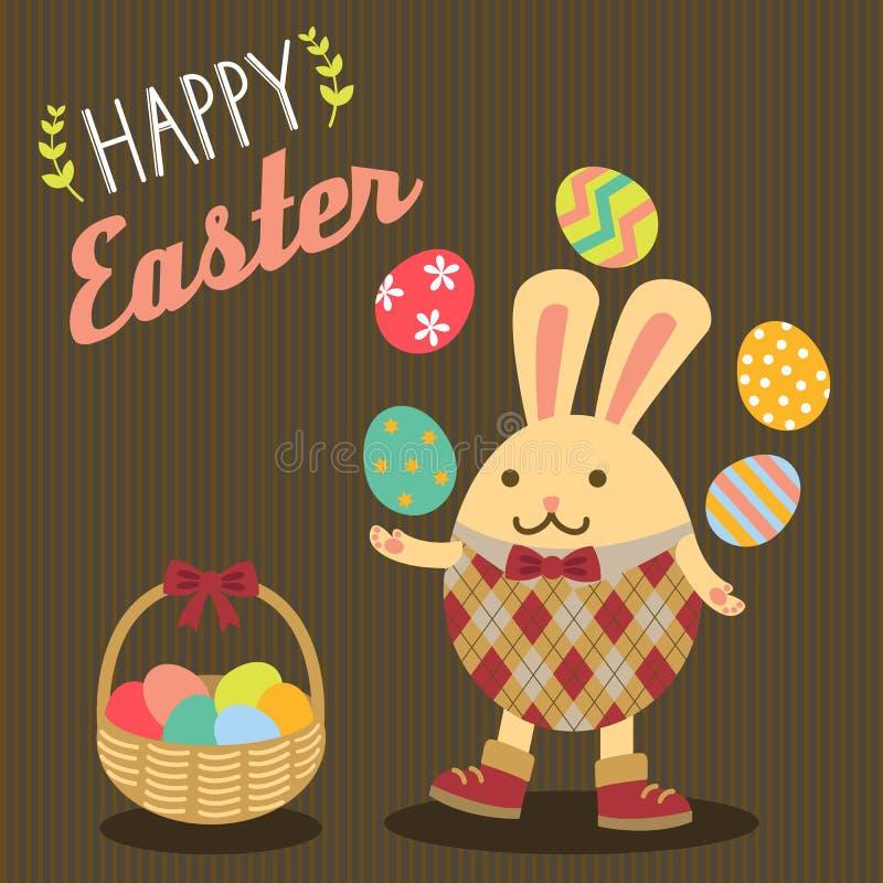 królik Wielkanoc szczęśliwy zdjęcie royalty free