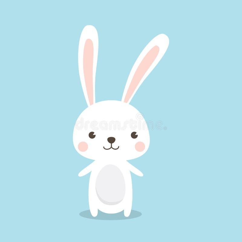 królik Wielkanoc szczęśliwy ilustracji
