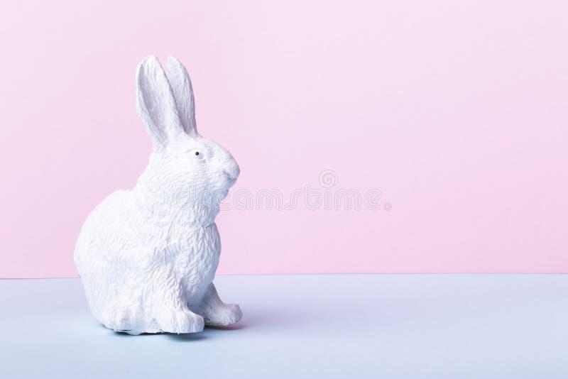 królika Easter biel obrazy stock