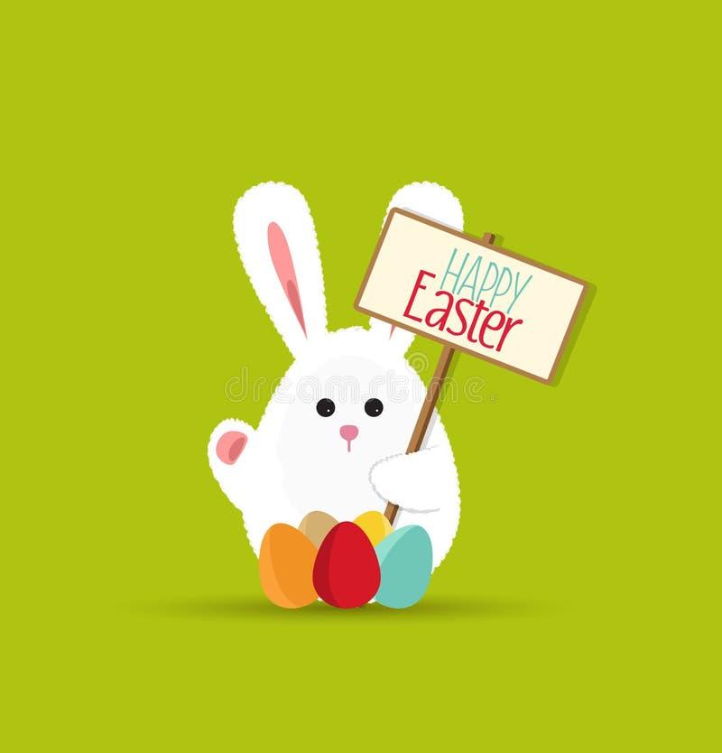 królika Easter wektor ilustracja wektor