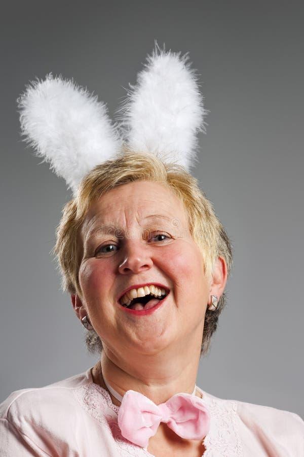 królika ucho kobieta fotografia stock