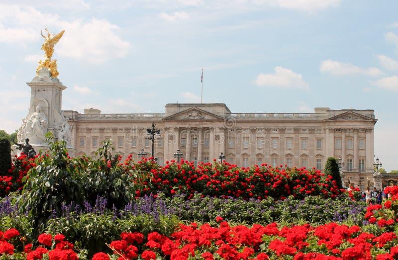 Królowa Anglia buckingham palace Londyn obraz stock