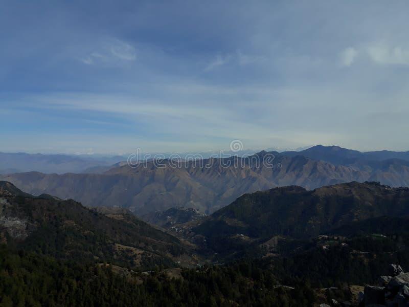 królowa góry masoorie, Dehradun zdjęcia royalty free