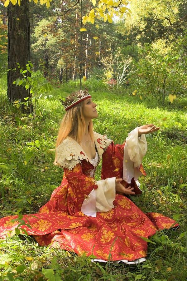 królowa jesienią zdjęcia stock