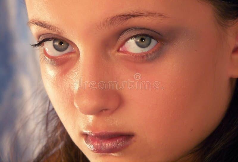 Królowa Makijaż Zdjęcie Stock