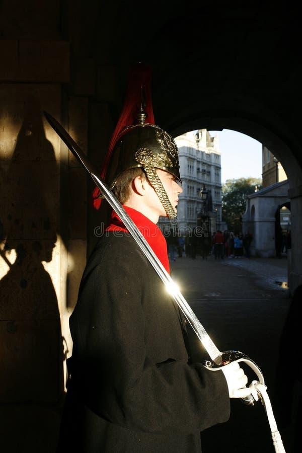 Królowa strażnik, kawaleria obrazy royalty free