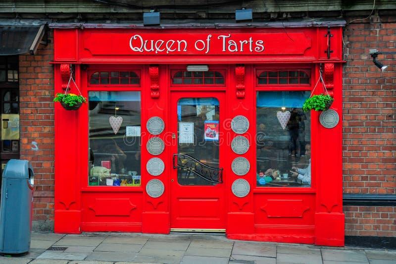 Królowa Tarts obraz royalty free