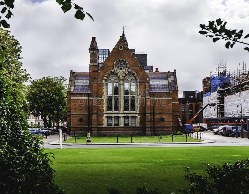 Królowa uniwersytet Belfast, Irlandia zdjęcie royalty free