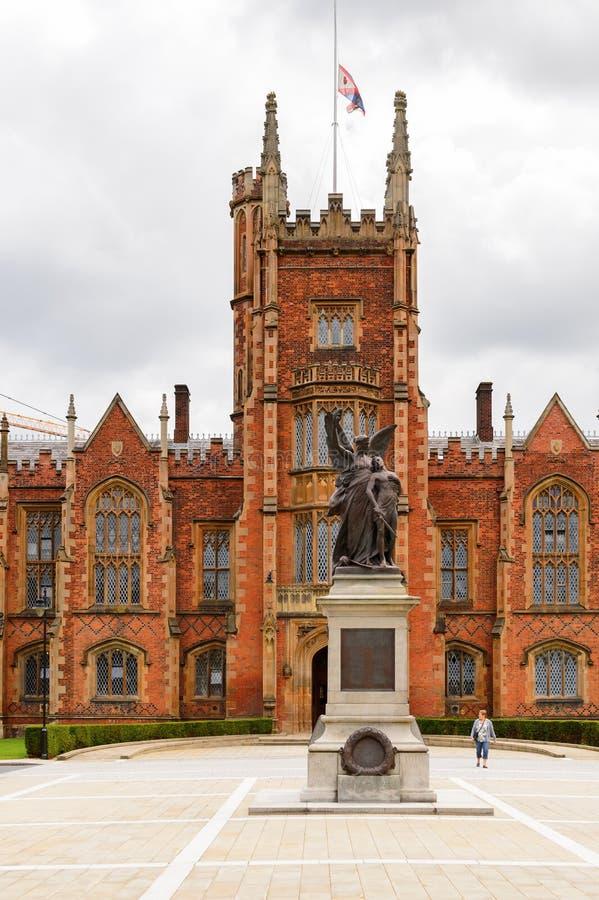 Królowa uniwersytet Belfast, Północny - Ireland zdjęcie stock