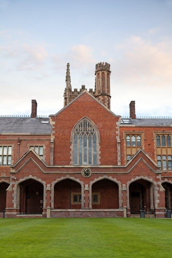 Królowa uniwersytet Belfast, Północny - Ireland fotografia stock