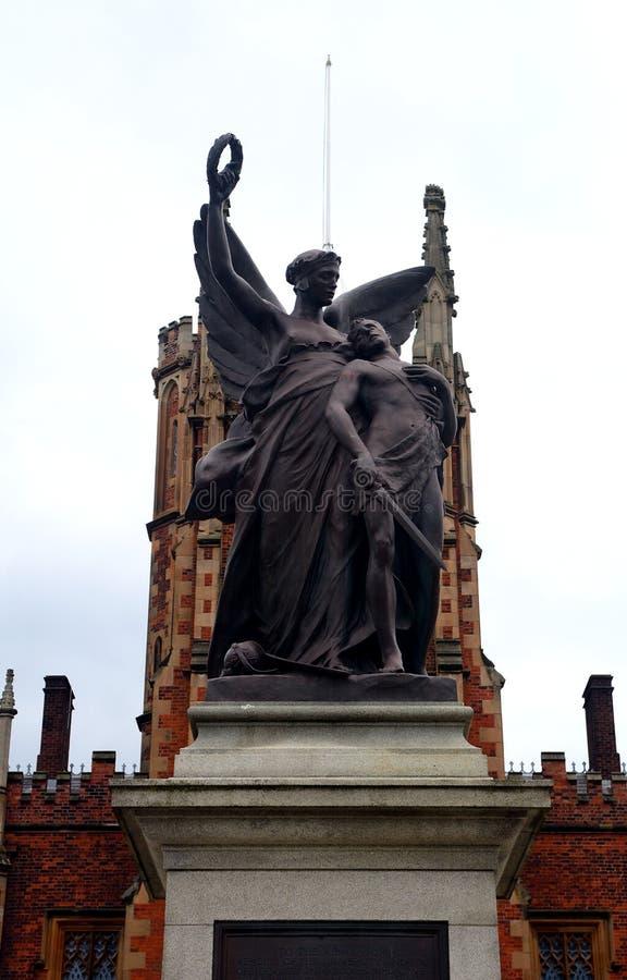 Królowej ` s uniwersytet, Belfast, Północny - Ireland obraz stock