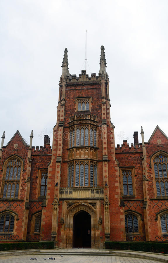 Królowej ` s uniwersytet, Belfast, Północny - Ireland zdjęcie royalty free