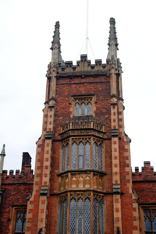 Królowej ` s uniwersytet, Belfast, Północny - Ireland obrazy stock