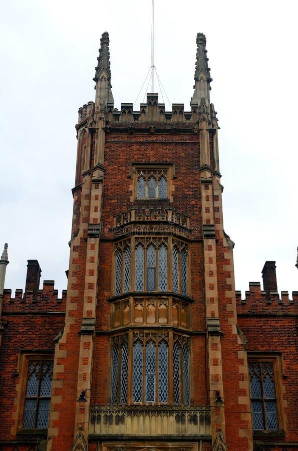 Królowej ` s uniwersytet, Belfast, Północny - Ireland zdjęcia royalty free