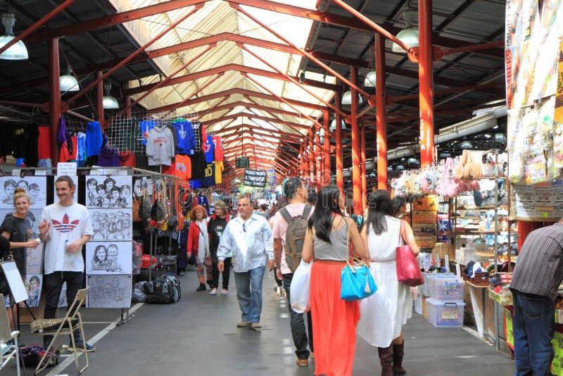 Królowej Wiktoria rynek Melbourne fotografia stock
