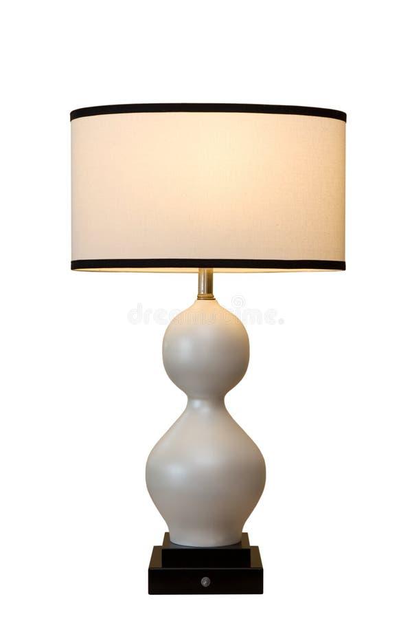 krökt lampa royaltyfri foto