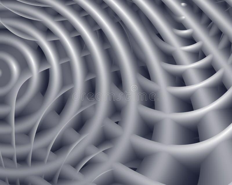 krökt rør för bakgrund vektor illustrationer