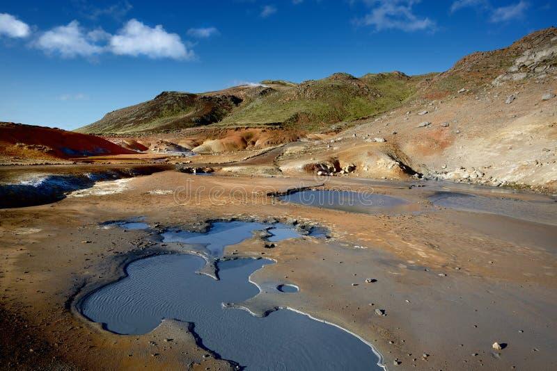Krýsuvík photographie stock libre de droits