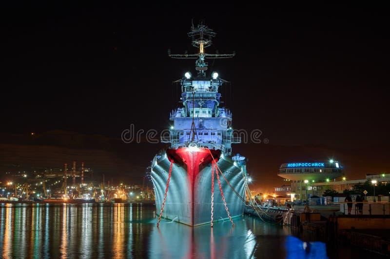 Krążownika ` Mikhail Kutuzov ` zdjęcie stock