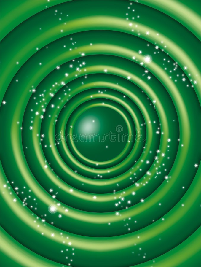 krąg green royalty ilustracja