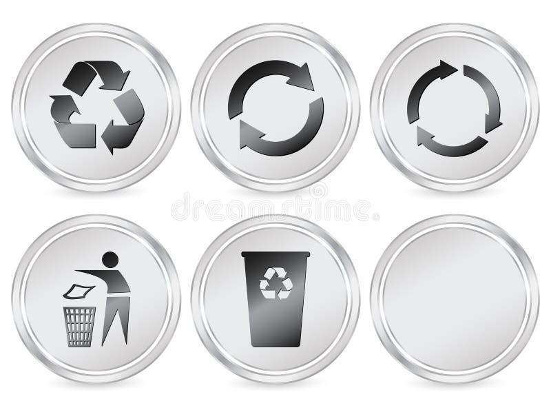 krąg ikona przetwarza symboli