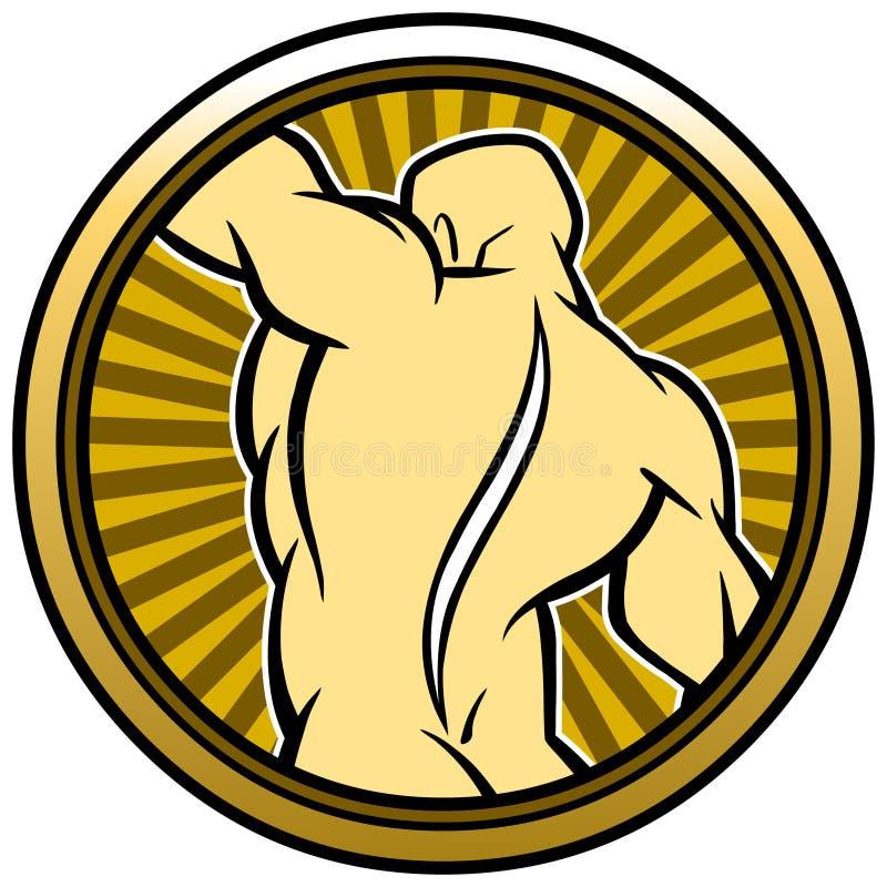 Kręgarz foka ilustracja wektor