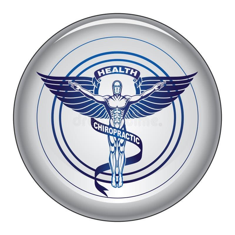 Kręgarza symbol lub ikona guzik ilustracji
