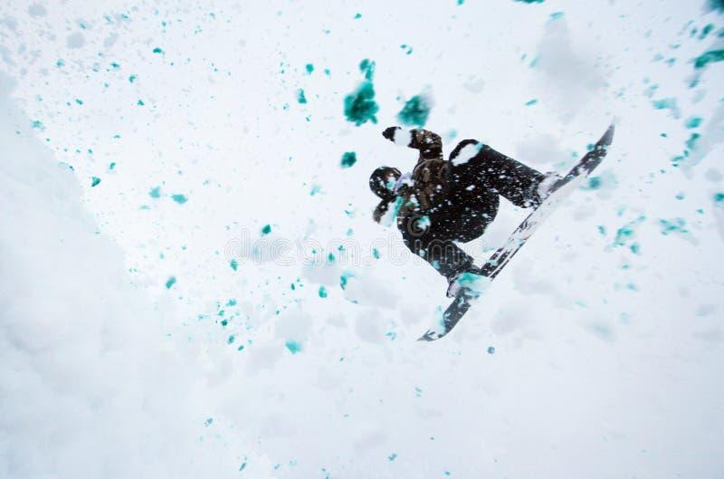 krańcowy skacze zdjęcia royalty free
