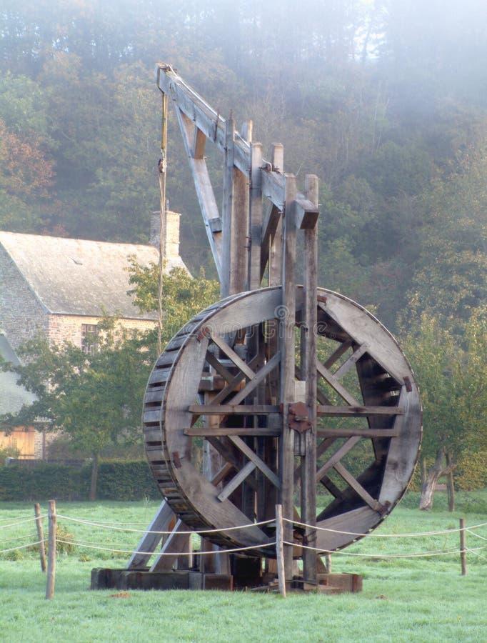 Download Kraan stock foto. Afbeelding bestaande uit lift, kabel, geschiedenis - 43924