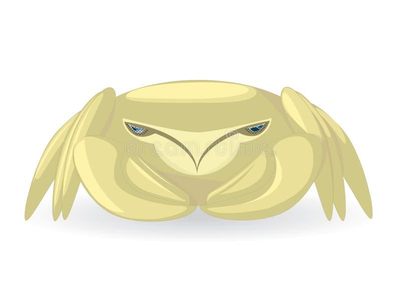 Download Krab ilustracja wektor. Ilustracja złożonej z błękitny - 13331441