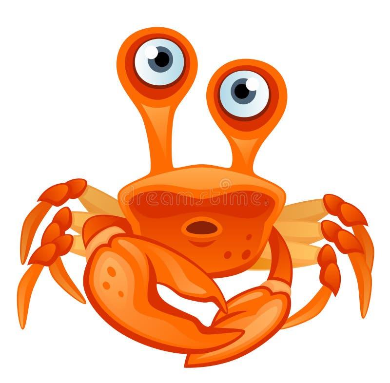 Krab royalty-vrije illustratie