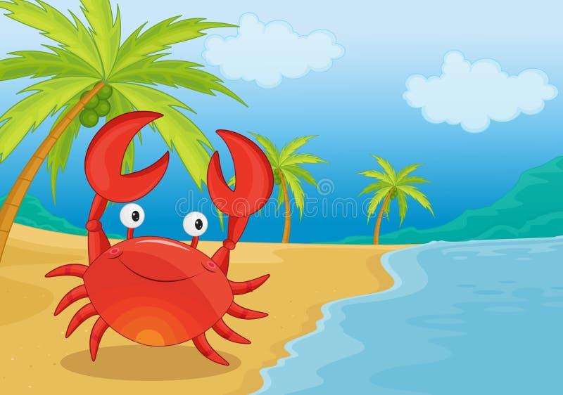 Krab vector illustratie