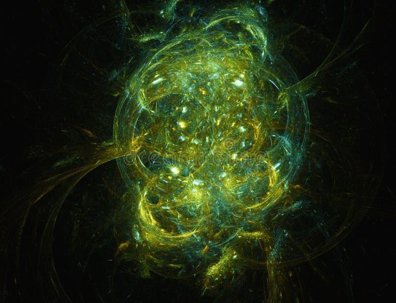 Krab mgławica ilustracja wektor