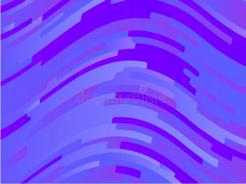 Krabb geometrisk bakgrund Olika skuggor av lilor, rosa färger, blått Ljus regnbågefärg Scalable vektordiagram royaltyfri illustrationer