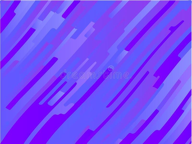 Krabb geometrisk bakgrund Olika skuggor av lilor, rosa färger, blått Ljus regnbågefärg Scalable vektordiagram vektor illustrationer
