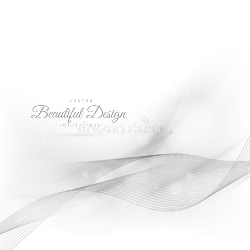 Krabb härlig bakgrund för silver stock illustrationer