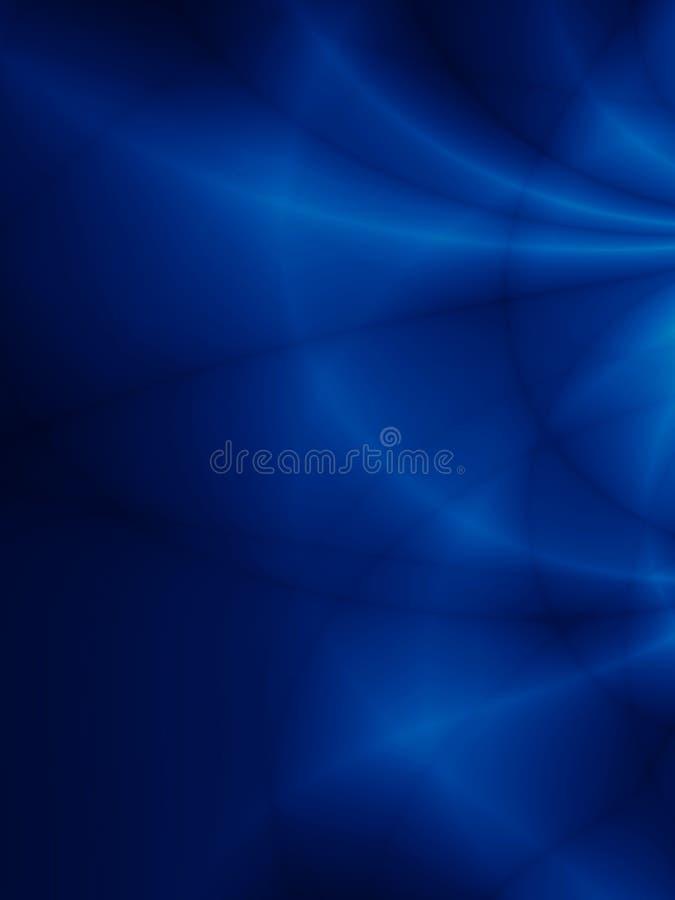 Krabb himmelbakgrund för blå djup storm royaltyfri illustrationer
