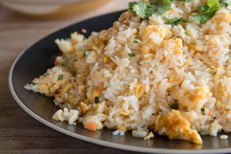 krabba thai stekt rice royaltyfri fotografi