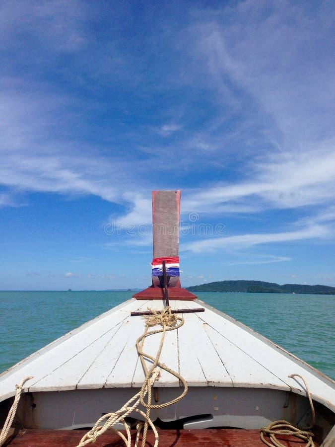 Krabi小船旅行 免版税库存图片