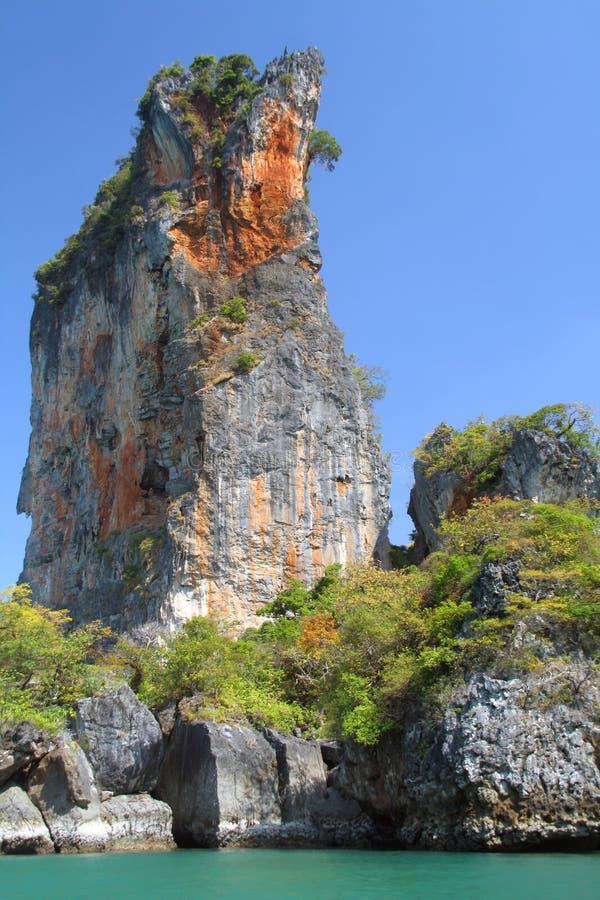 krabi横向泰国 图库摄影
