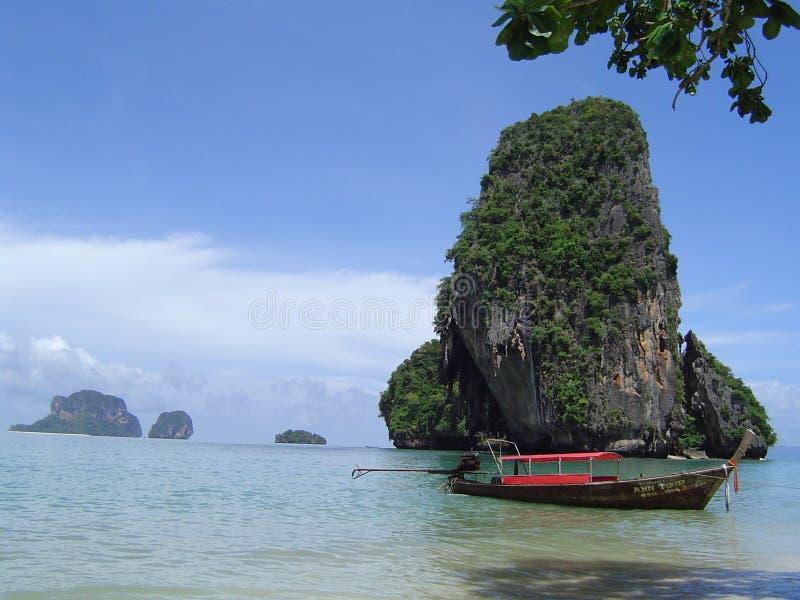 Krabi beach royalty free stock photo