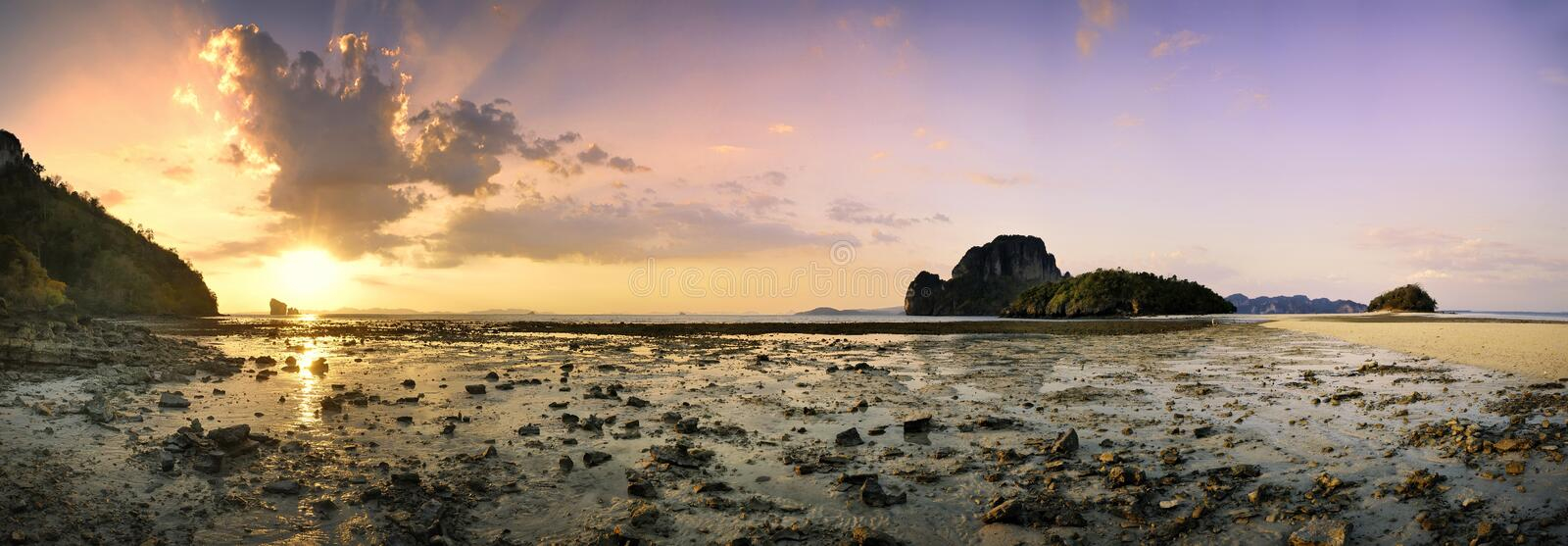 Download Krabi Beach Panorama 1 Royalty Free Stock Photos - Image: 19390118