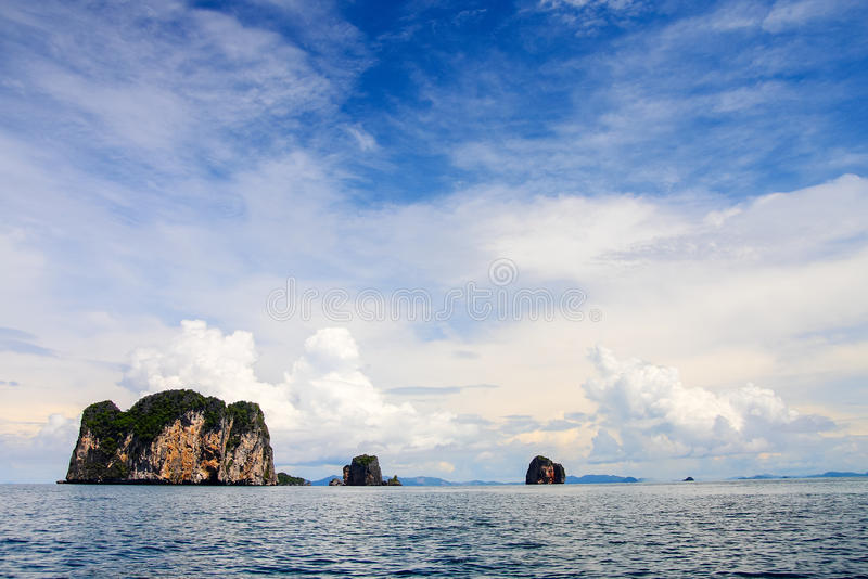 Krabi-Meer stockfotografie