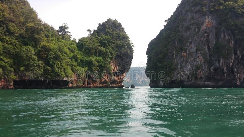 Is Krabi an island royalty free stock images