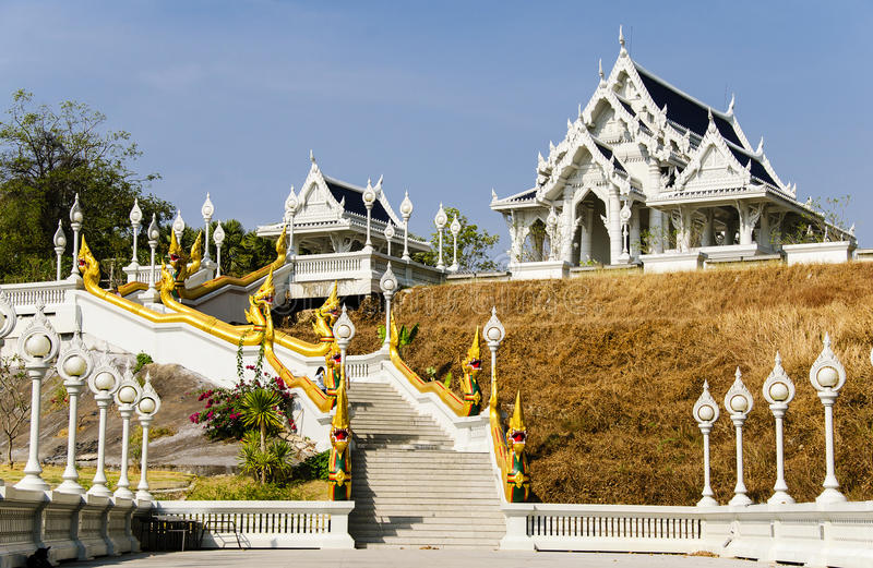 Download Krabi temple stock photo. Image of asia, hill, gold, building - 29607942