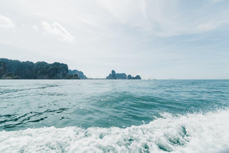 Krabi Thailand öar royaltyfri foto