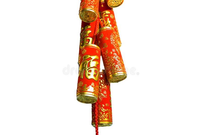 Kracher des chinesischen neuen Jahres lizenzfreies stockbild