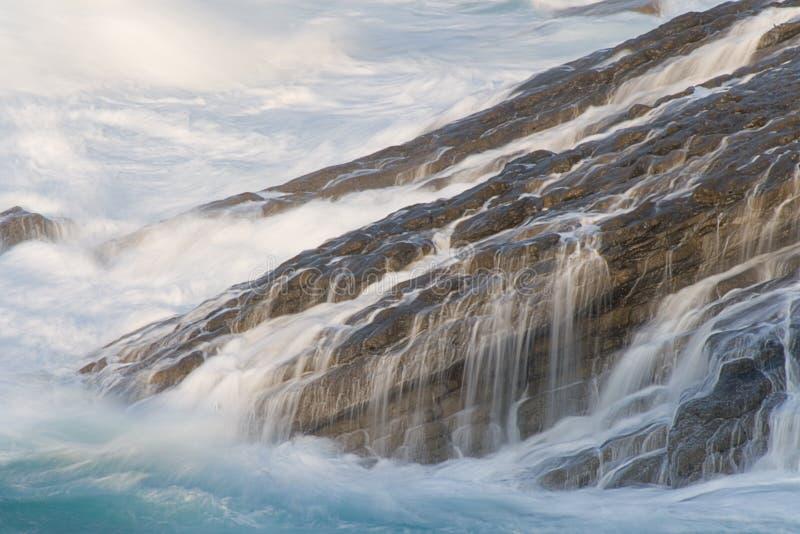 Kracht van het overzees in Kobaron stock foto's
