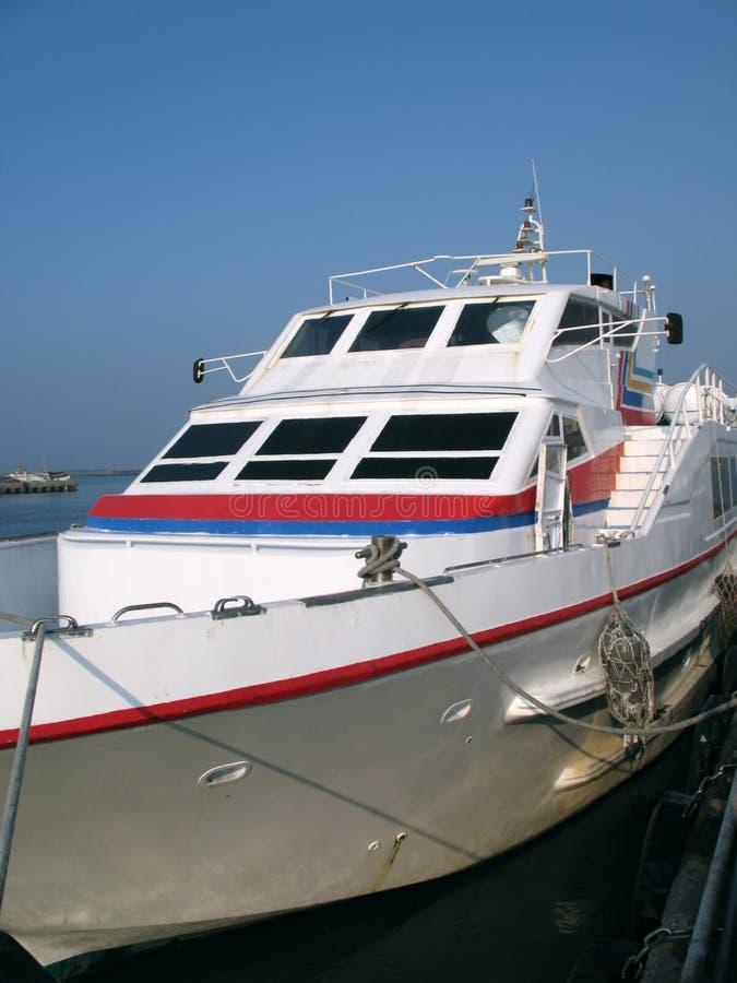 Krachtige Motorboot stock fotografie